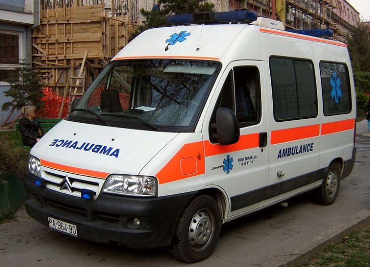 Serbia Citroen Jumper ambulance PA-964-90