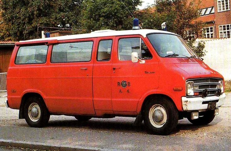 Dodge Tradesman Ambulance Van