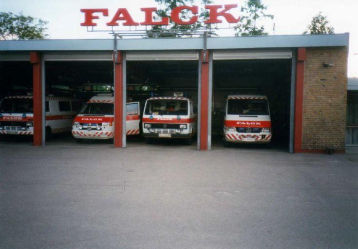 ambulance vw lt 31 falck