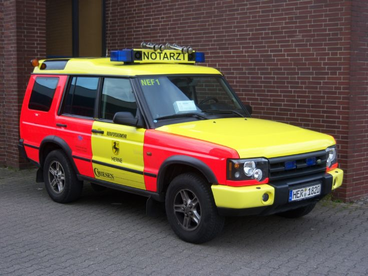 Land Rover Discovery Feuerwehr Herne Germany