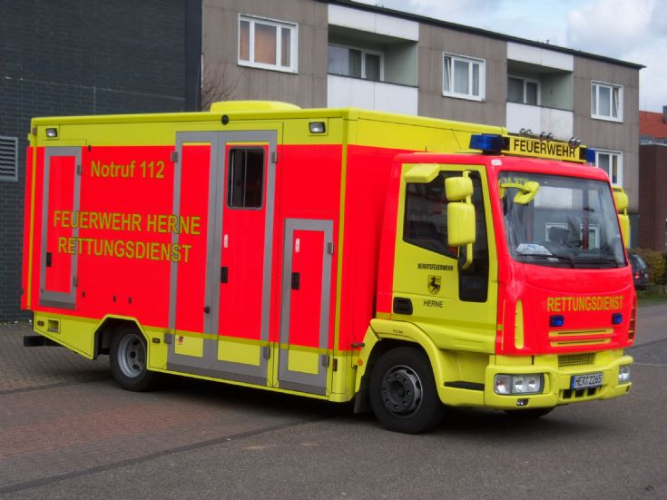 Iveco Rettungsdienst Herne M-RTW