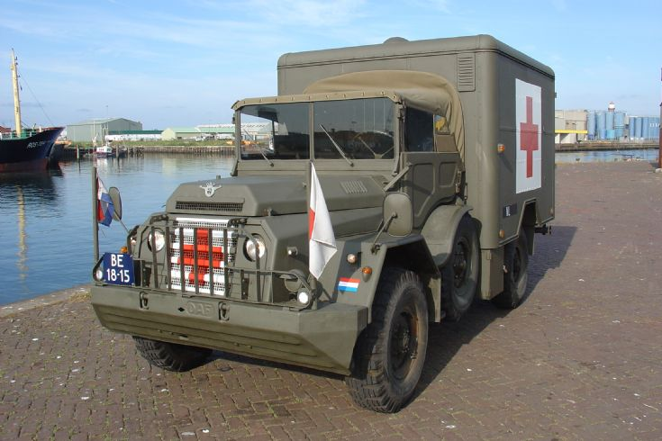 Daf YA 126 ambulance 1957