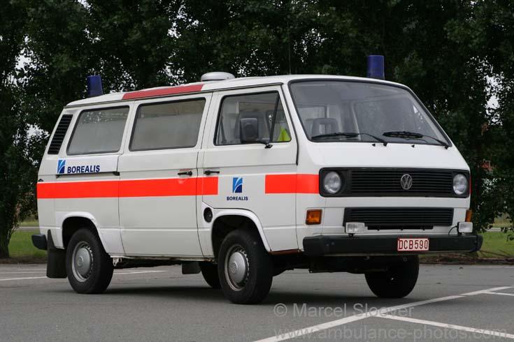 Volkswagen ambulance Borealis Antwerp Belgium