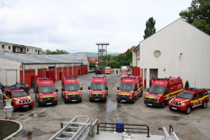 Romania emergency rescue service line-up