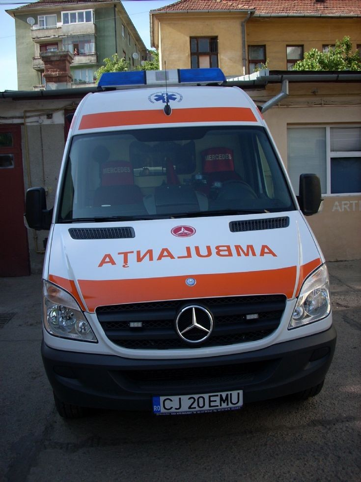 Mercedes Benz Intensive Care Ambulance
