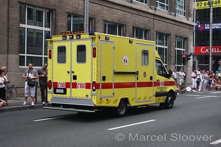 Military Hospital ambulance