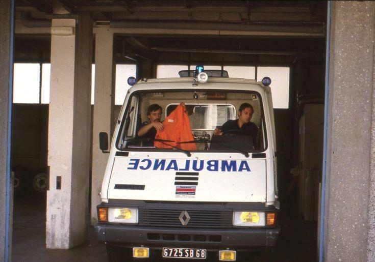 Renault ambulance at Colmar