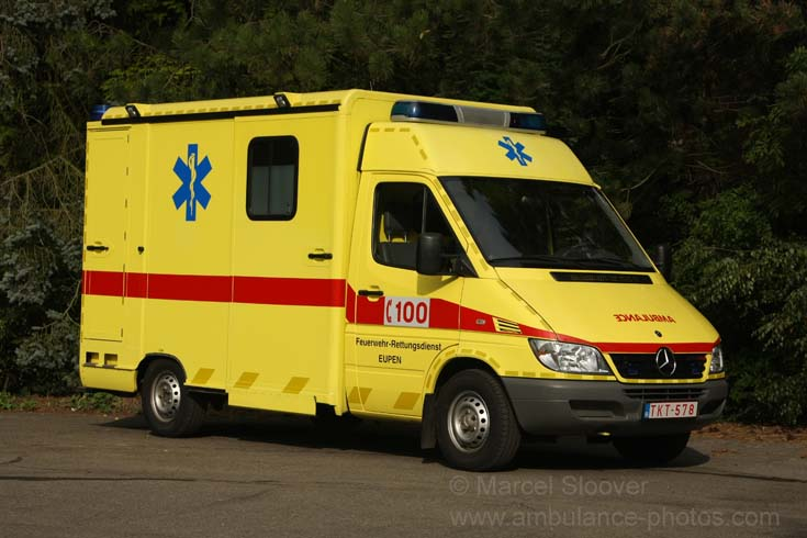 Feuerwehr Eupen Mercedes Stobel Ambucar