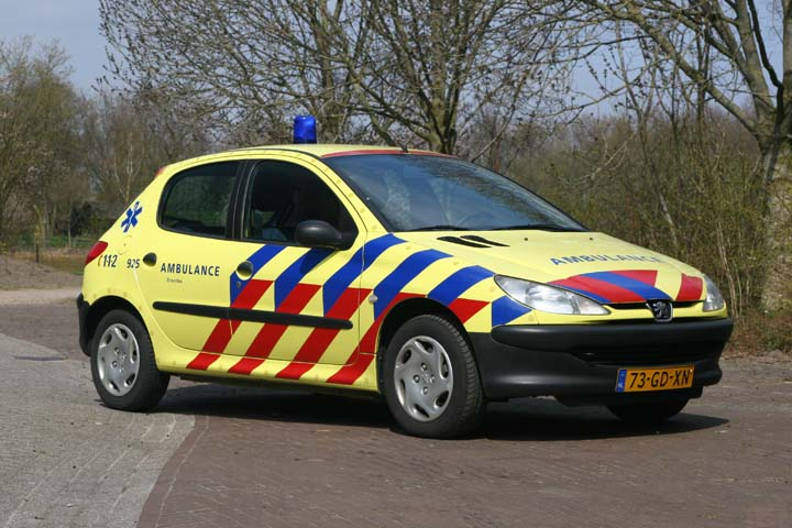 Ambulancedienst Drenthe Peugeot