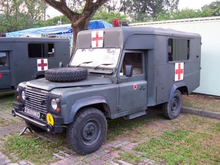 Singapore SAF ambulance