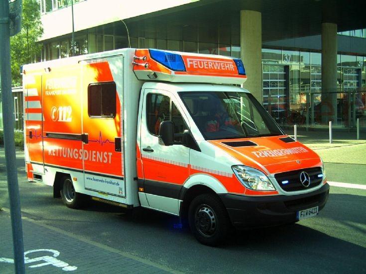 Sprinter, Feuerwehr Frankfurt