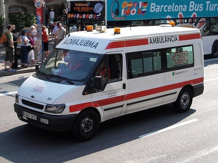 Transport Sanitari Catelanya 5300 DFD