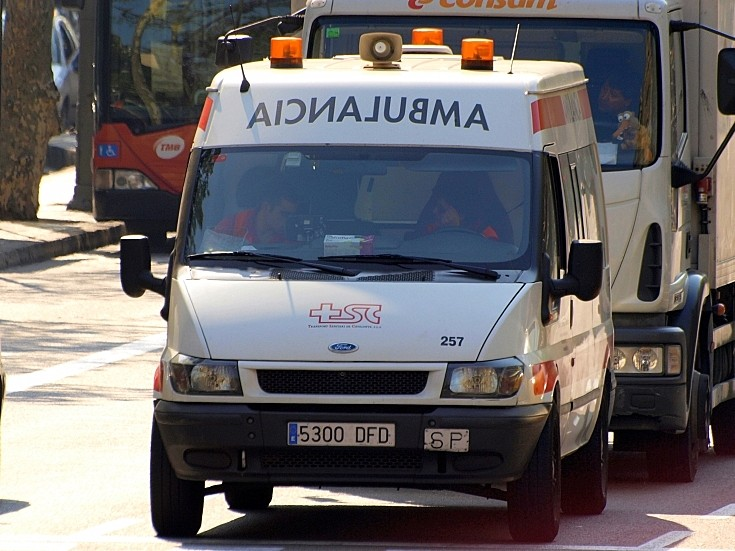 Ambulancia Transport Sanitari Catelanya