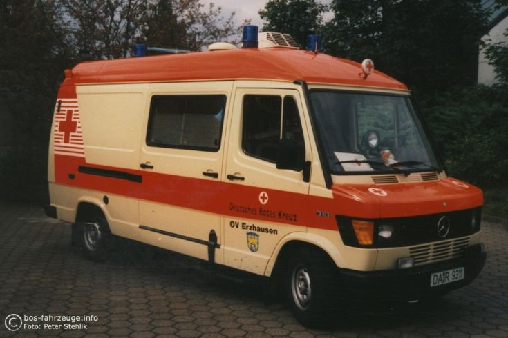 Erzhausen - Ambulance Mercedes 310