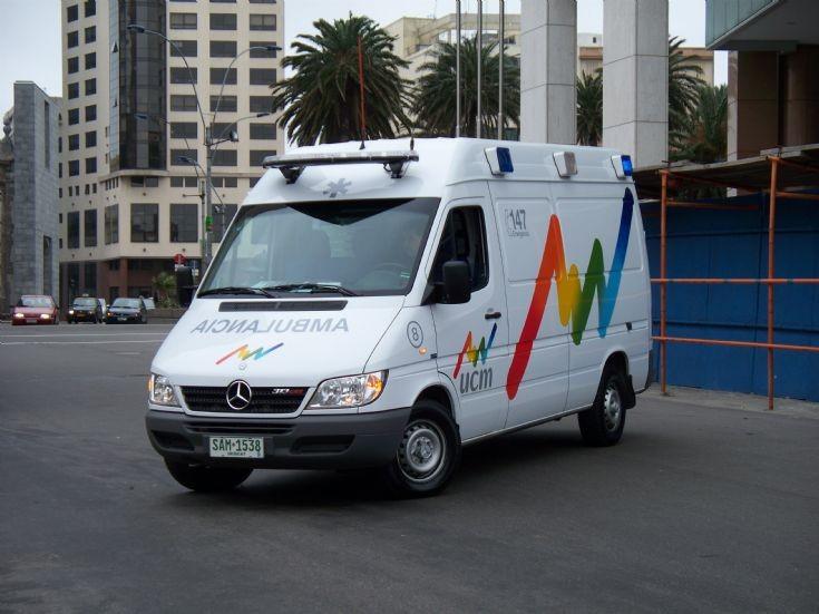 Mercedes Benz 'Sprinter' in Montevideo