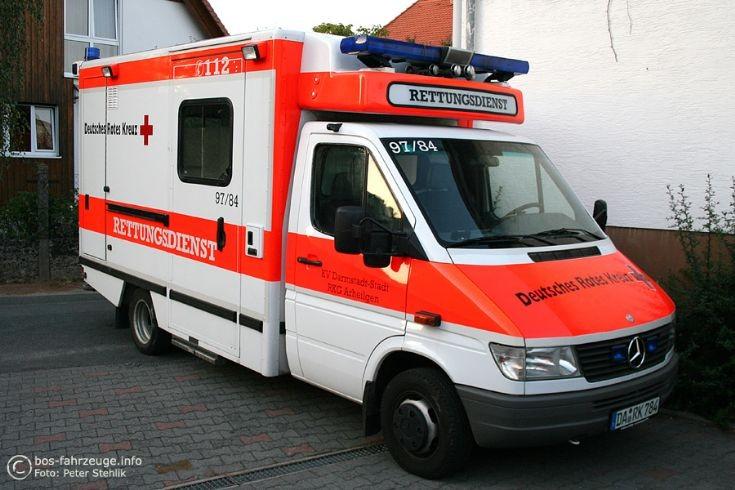 Darmstadt-Arheilgen (Germany) MB Sprinter