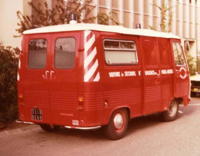 Colmar Fire Department Peugeot J7 Ambulance