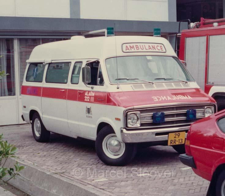 Rijswijk Ambulance Dodge