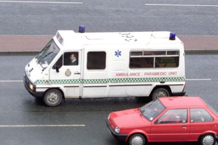 Renault Ambulance Northumbria.