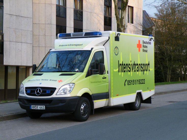 Intensivtransport/rescue ambulance Hameln