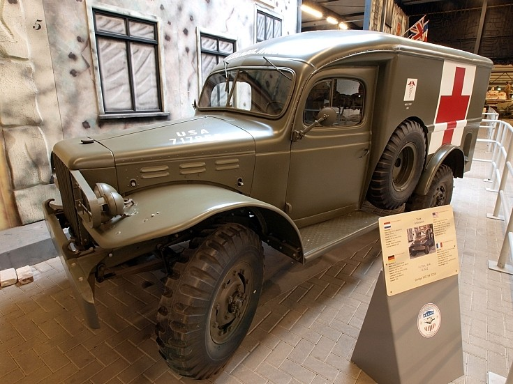 Dodge WC-54 military ambulance