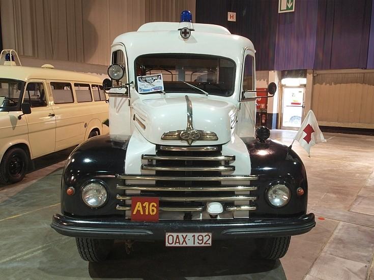 Classic ambulance Ford Koln 1954
