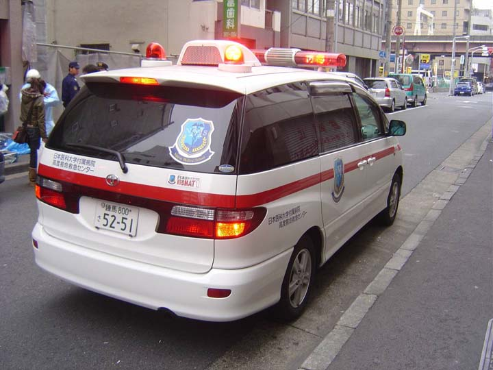 Tokyo Fire department Toyota  EMS vehicle
