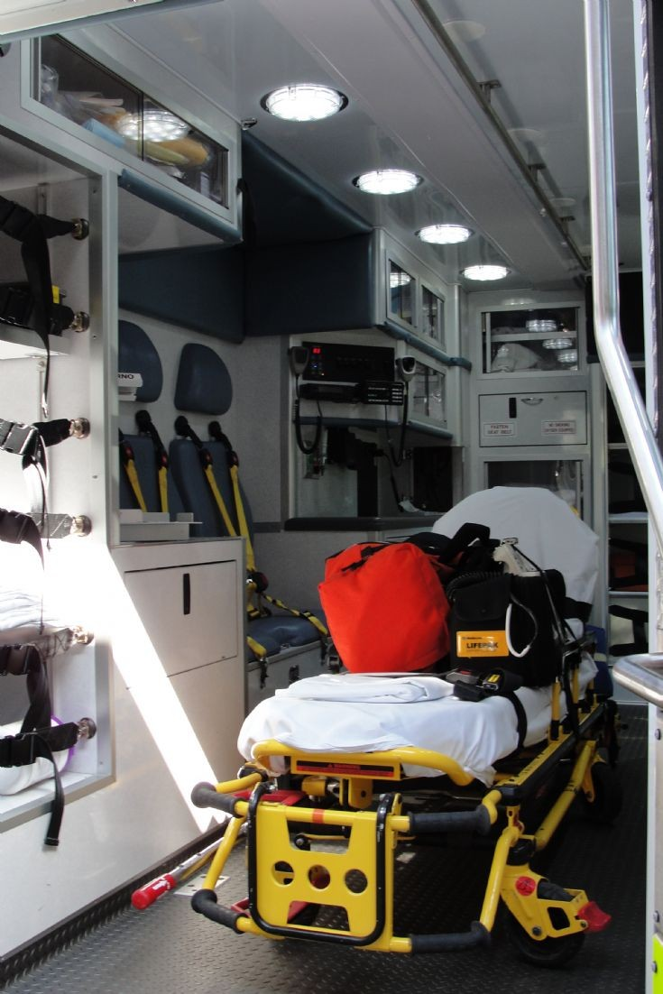 Ambulance Photos - Inside Wake EMS 10