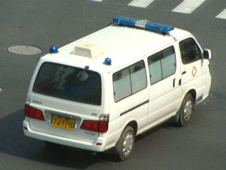 Shanghai Ambulance van