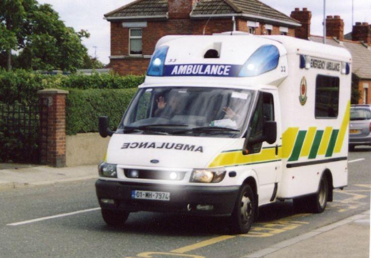 Drogheda, Ireland Ford ambulance