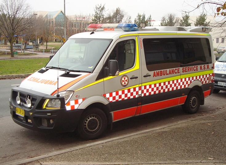 ASNSW Mercedes Benz Sprinter ambulance