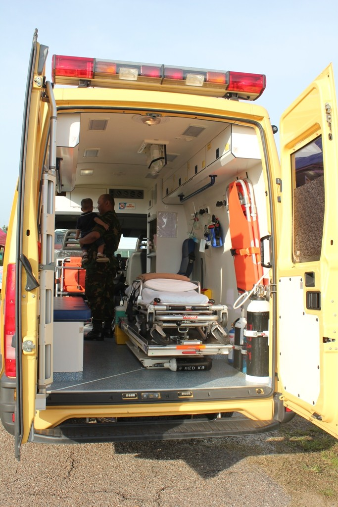 Iveco ambulance internal