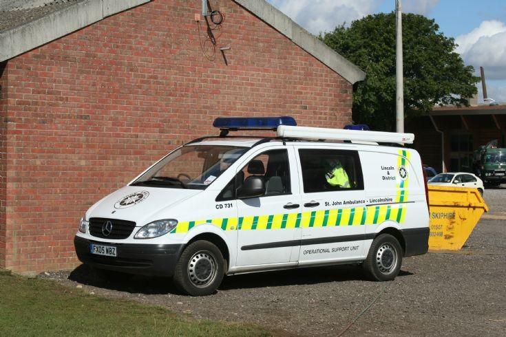 2005 Mercedes Veto StJohn Ambulance