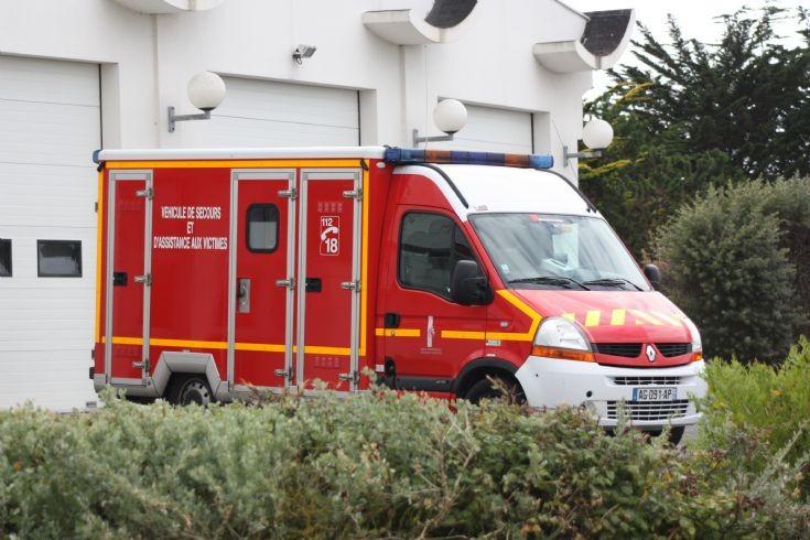 Saint-Gilles Croix de Vie light ambulance.