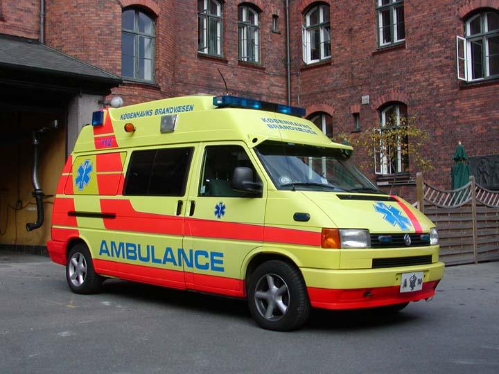 Picture of Copenhagen Fire Service Ambulance