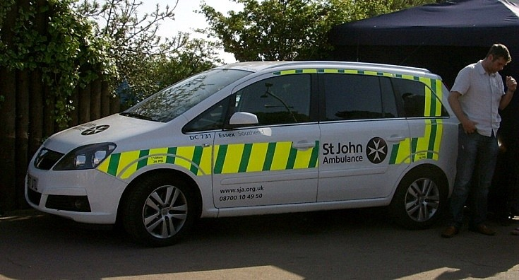 St John Ambulance at Southend Air Show