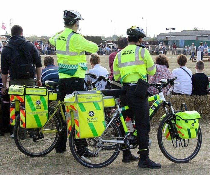 St Johns Bicycle Response Unit