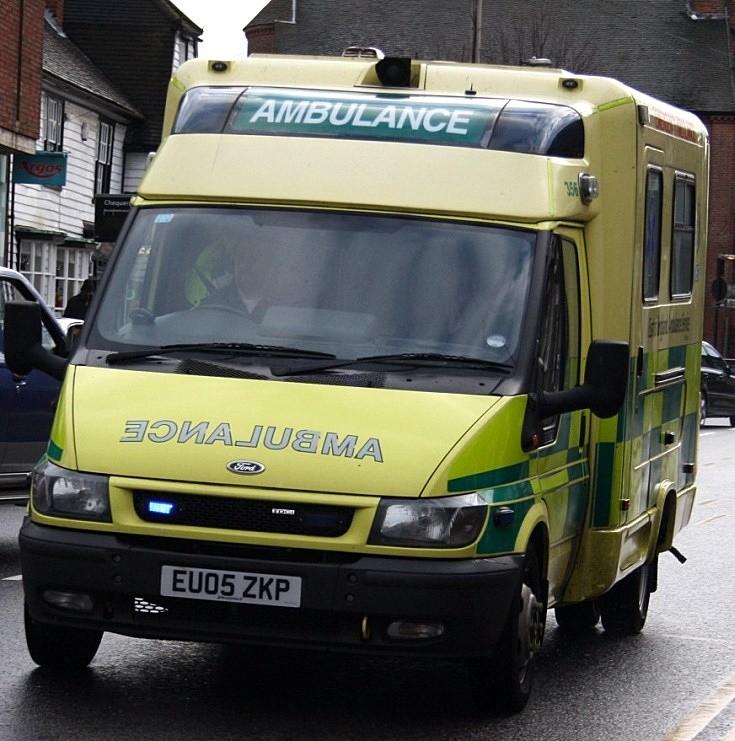 Modular ambulance, Billericay