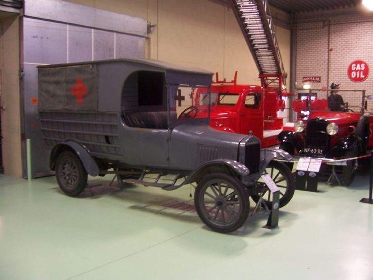 Ford ambulance at museum