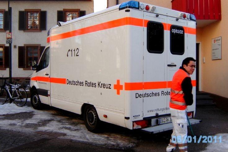 Mercedes ALS amb.german red cross,offenburg