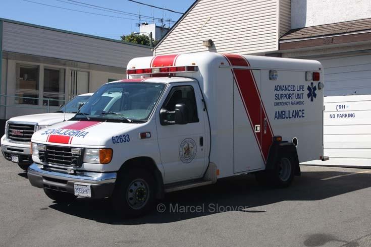 Ford ALS unit Nanaimo