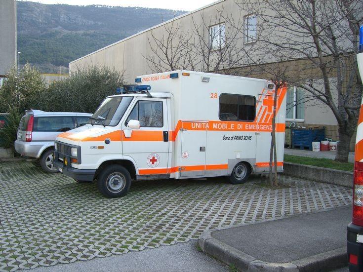 Ambulance Italian Red Cross