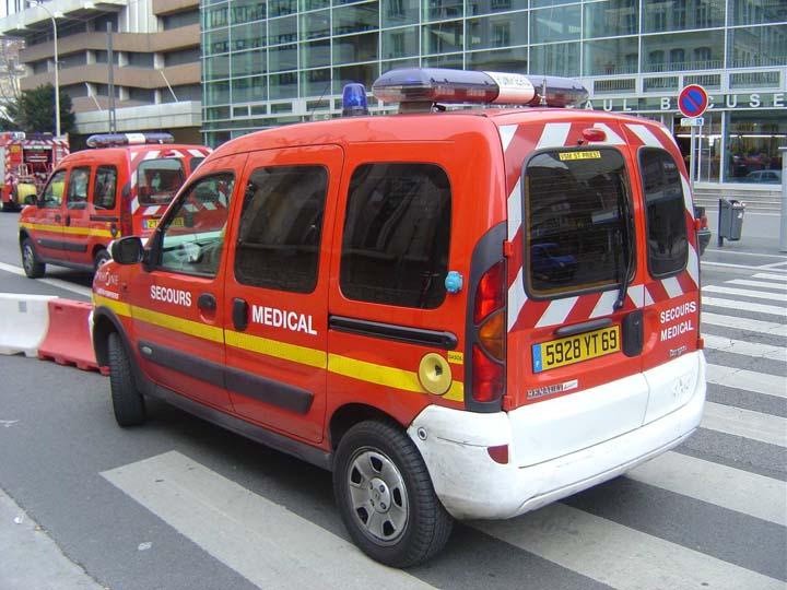 Rhone Fire & Rescue France Lyon Renault EMS