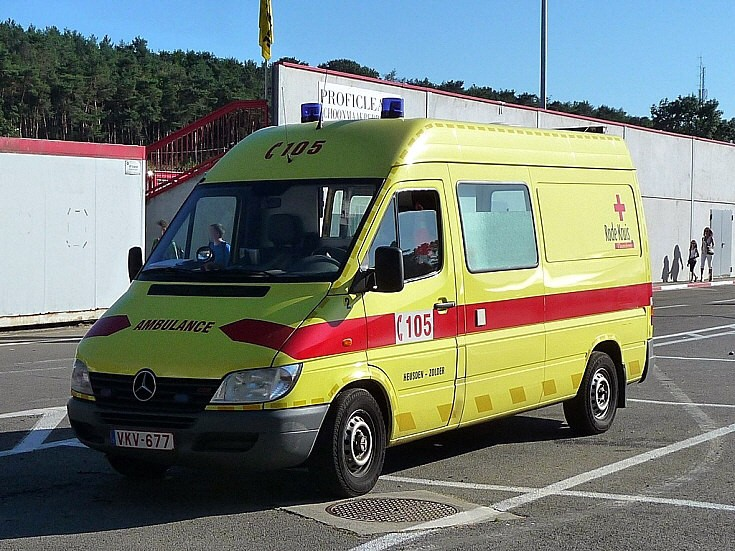 Rode Kruis Ambulance