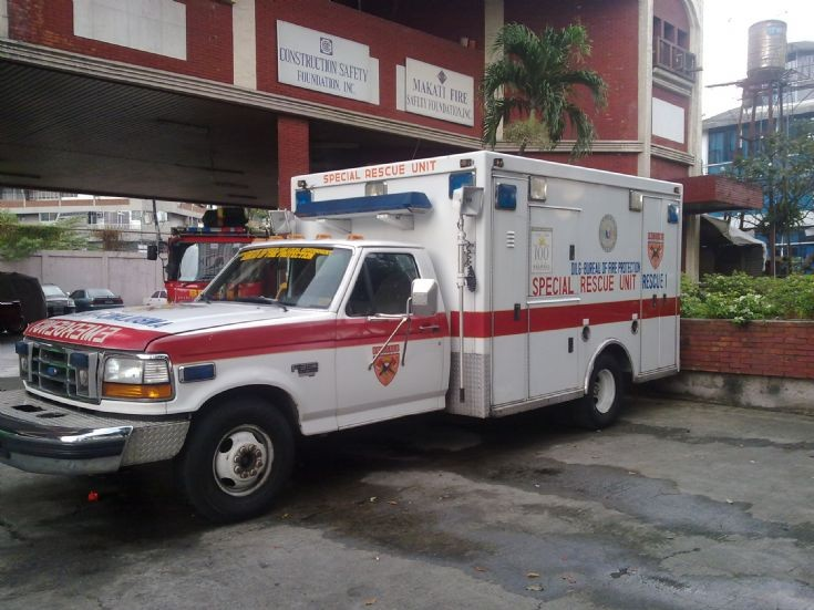 Makati Fire Special Rescue Unit Ambulance