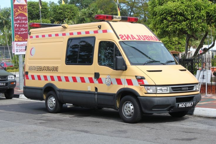 Iveco Crossmobil domestic ambulance