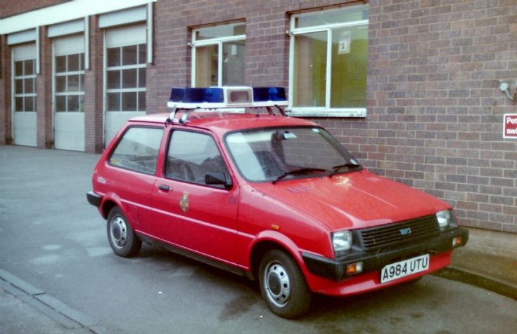 Cheshire Ambulance Service Officer's Car