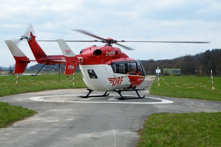 Photo of Christoph Niedersachsen helicopter