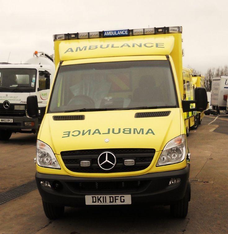 DK11DFG MB Ambulance