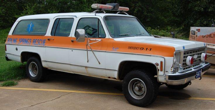 Former Chevy Suburban Ambulance